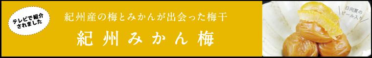 紀州みかん梅
